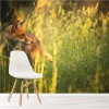 Fox In The Long Grass Summer Meadow Animal Wall Mural Nature Photo Wallpaper