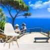 Beautiful View Of Amalfi Coast Italy Landscape Wall Mural Travel Photo Wallpaper