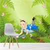 Alice In Wonderland Illustration Fairytale Wall Mural kids Photo Wallpaper