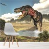 Tarbosaurus Dinosaur Illustration Prehistoric Wall Mural kids Photo Wallpaper