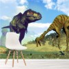 T-Rex, Tyrannosaurus & Gallimimus Dinosaur Wall Mural kids Photo Wallpaper