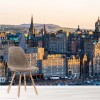 Panorama Of Edinburgh Scotland City Skyline Wall Mural Landscape Photo Wallpaper