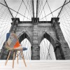 Brooklyn Bridge, New York Buildings & Architecture Wall Mural Photo Wallpaper