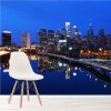Philadelphia Skyscrapers At Night City Skyline Wall Mural USA Photo Wallpaper