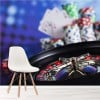 Poker Chips, Cards, Roulette Gambling Casino Wall Mural Games Photo Wallpaper