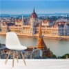 Houses Of Parliament Budapest, Hungary Buildings Wall Mural City Landscape
