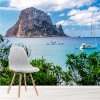 Tropical Island Es Vedra, Ibiza Beach Wall Mural Landscape Photo Wallpaper