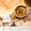 Vintage Style Treasure Map Kids Adventure Wall Mural Travel Photo Wallpaper