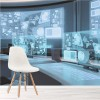 Futuristic Command Centre, Business, Office Wall Mural Photo Wallpaper
