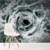 Whirlpool Storm Boat At Sea Nautical Wall Mural Nature Photo Wallpaper