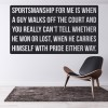 Sportsmanship & Pride Tennis Sports Quotes Wall Sticker Home Art Decals Decor