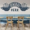 Central Perk Friends Logo TV & Film Wall Stickers Home Decor Art Decals