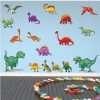 Large T-Rex & Dinosaur Wall Sticker Set Jurassic Wall Decal Kids Home Decor