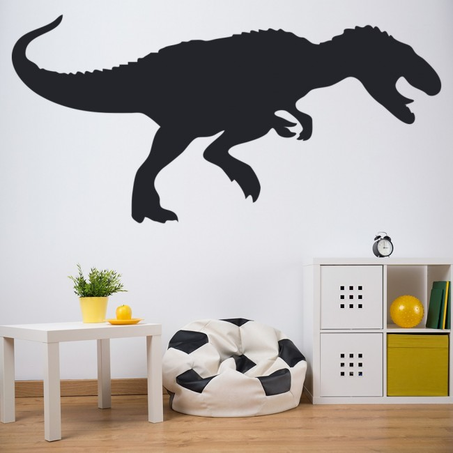 T rex print wall sticker dinosaur wall art for T rex bedroom decor
