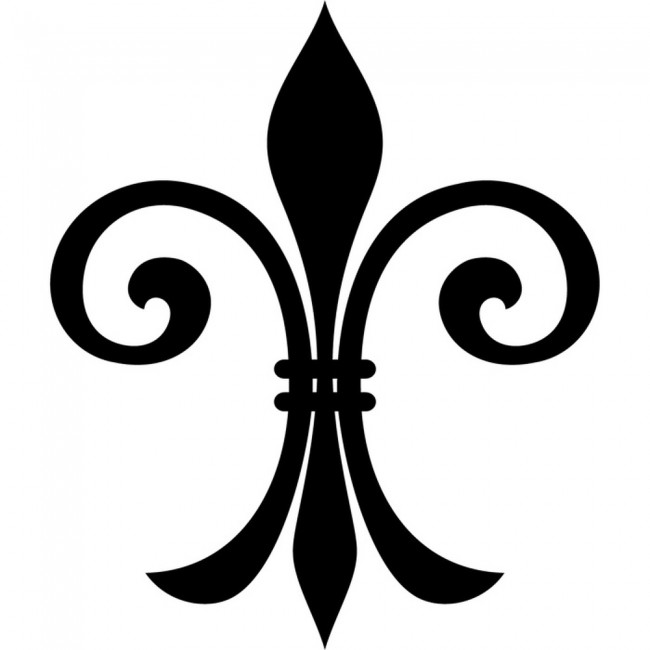 fleur de lis wall stickers embellishment wall art fleur de lis wall decals amp wall stickers zazzle