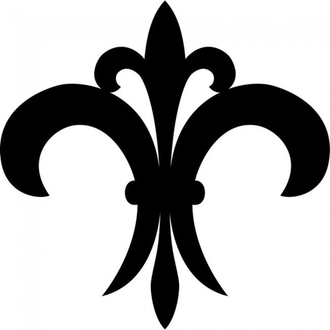 simple fleur de lis wall sticker embellishment wall art fleur de lis set of 12 vinyl sticker decal wall art