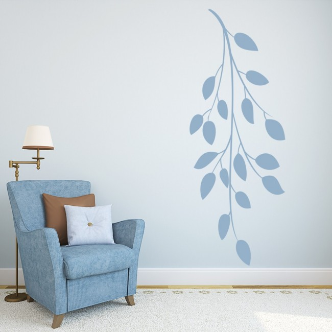 wall stickers florals leaves branches