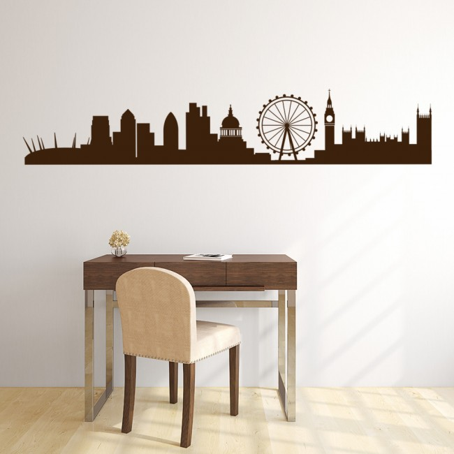 London landmarks uk england rest of the world wall sticker for Home decorations london
