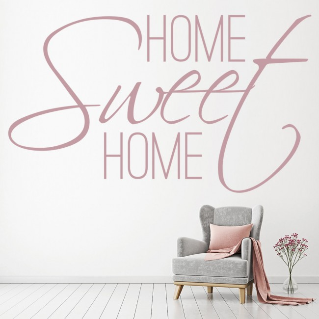 Home sweet home wall stickers home wall art Home sweet home wall decor