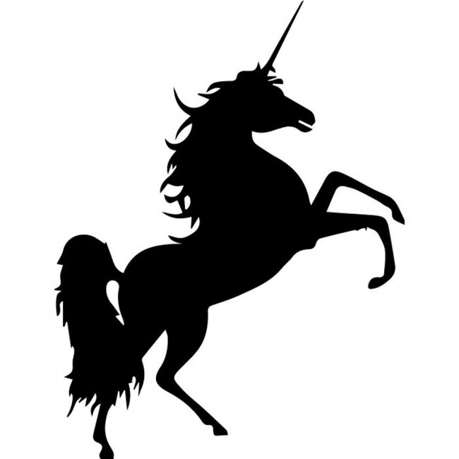 Silhouette mythical creatures wall sticker home decor art decals