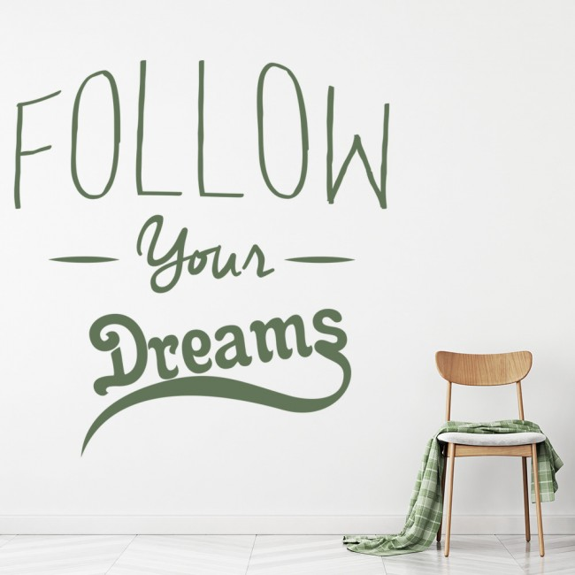 Aliexpress.com : Buy D222 FOLLOW YOUR DREAMS Arrows Words ...