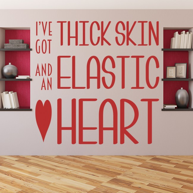 thick skin elastic heart sia song lyrics wall sticker home elton john ellie goulding your song music lyrics notes