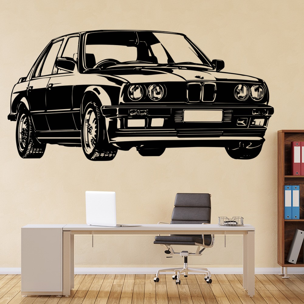Bmwcarimage: BMW Wall Sticker Car Wall Art