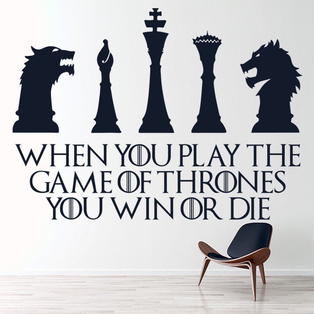 Game Of Thrones Win Or Die Wall Sticker Game Of Thrones