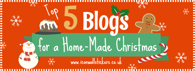Top 5 Christmas Blogs Title