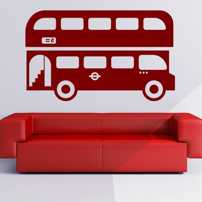 London Bus Wall Sticker