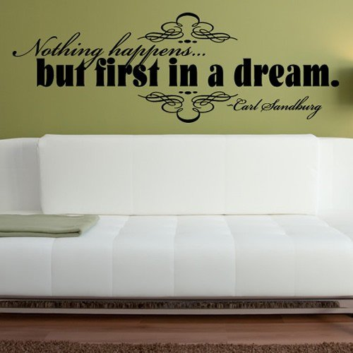 First in a Dream Wall Sticker