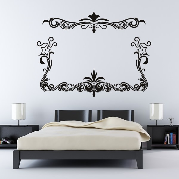 Floral Border Wall Sticker