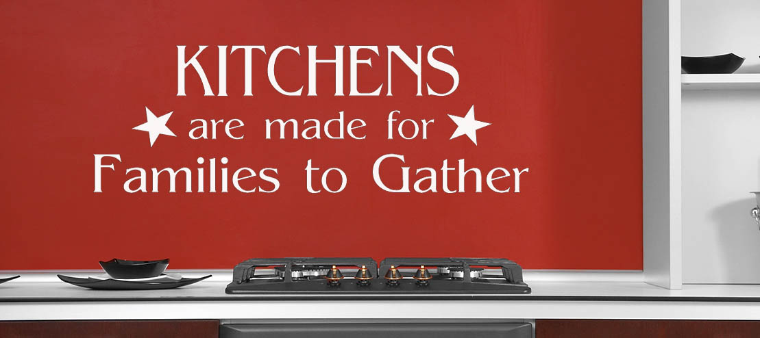 Kitchen Quote Wall Sticker