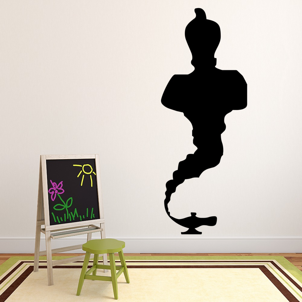 Genie And Lamp Wall Sticker Wall Art Decal
