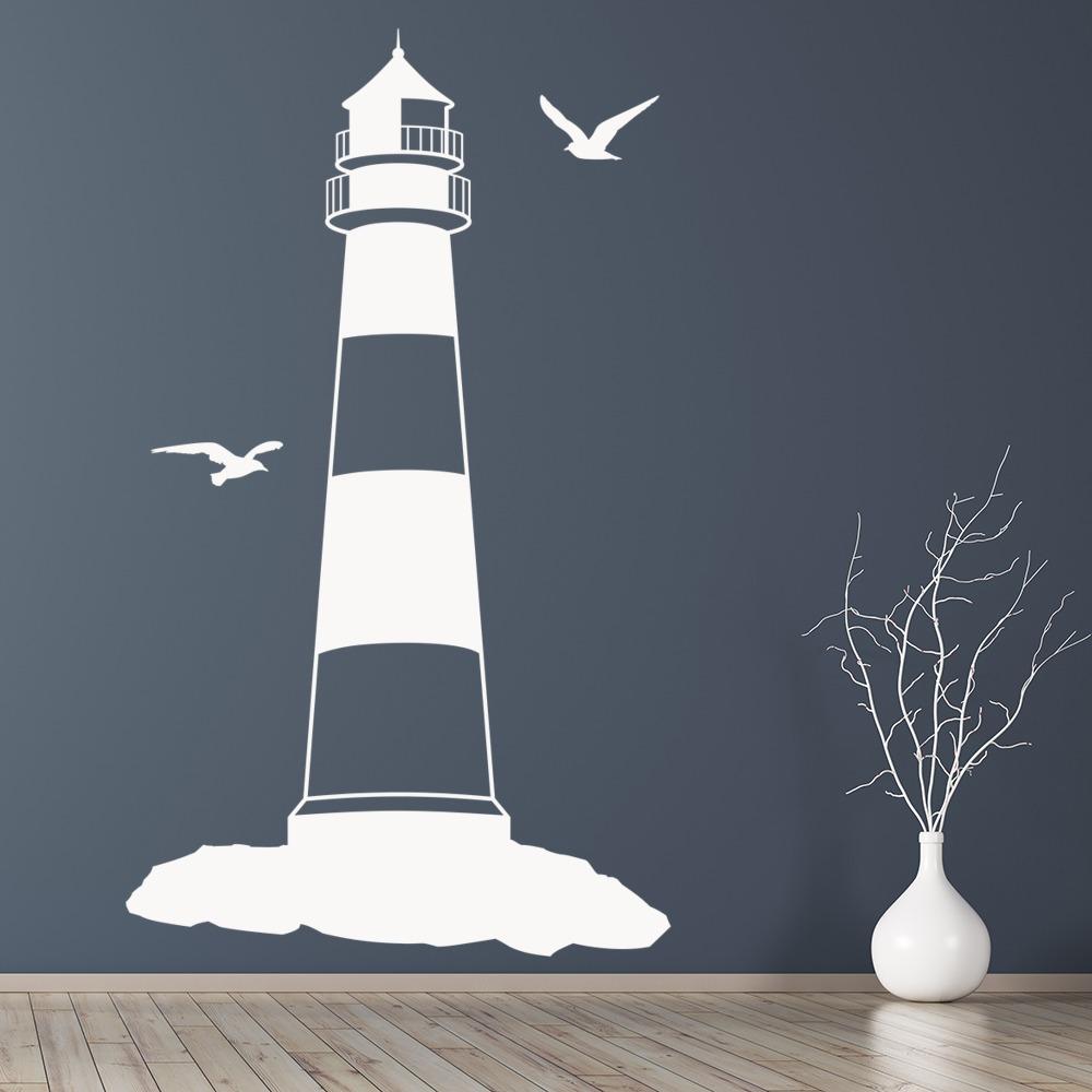 Lighthouse Wall Stickers Seaside Wall Art