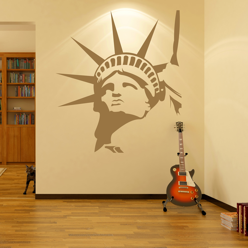 Statue Of Liberty Wall Sticker New York City Wall Decal