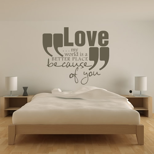 always and forever wall stickers love quotes wall art