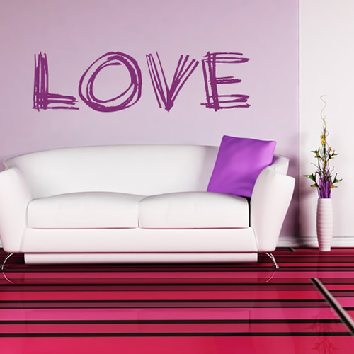 Love Wall Stickers Wall Art Decal