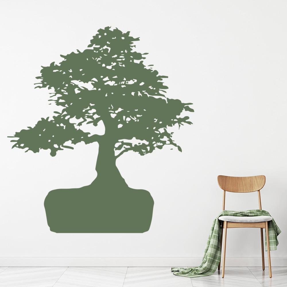 Roots Bonsai Tree Trees Wall Stickers Wall Art Decal
