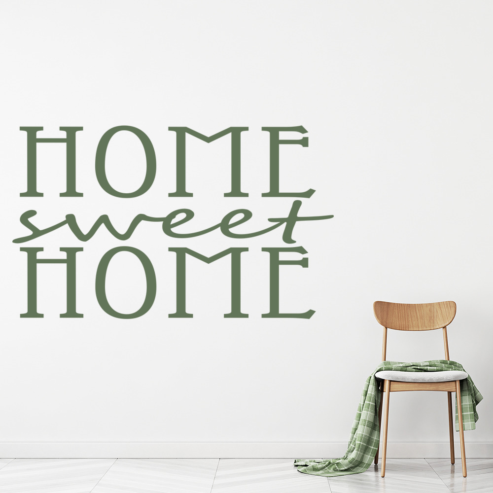 home Sweet Home Wall Stickers Home Wall Art