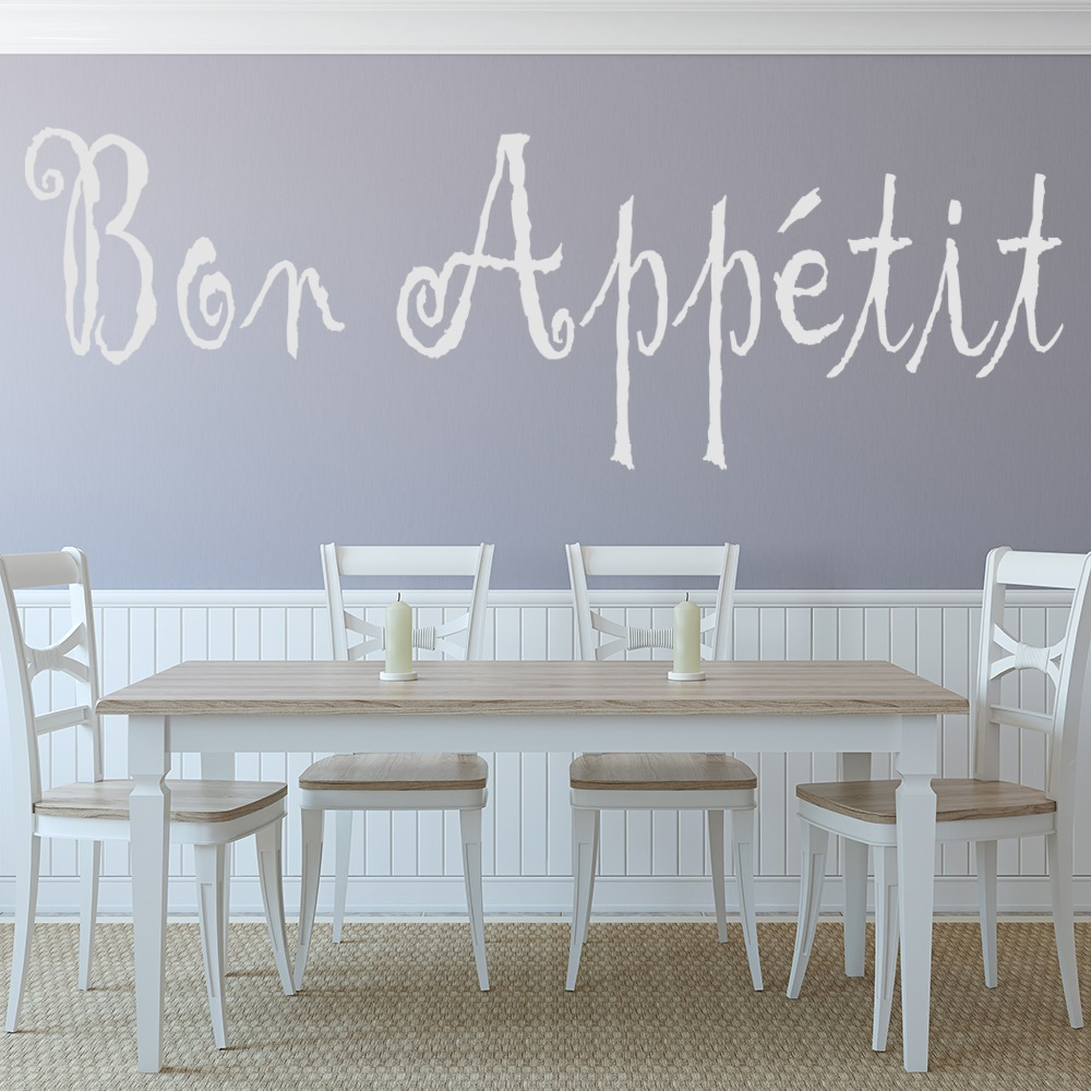 Bon Appetite Wall Stickers Kitchen Decor Wall Art