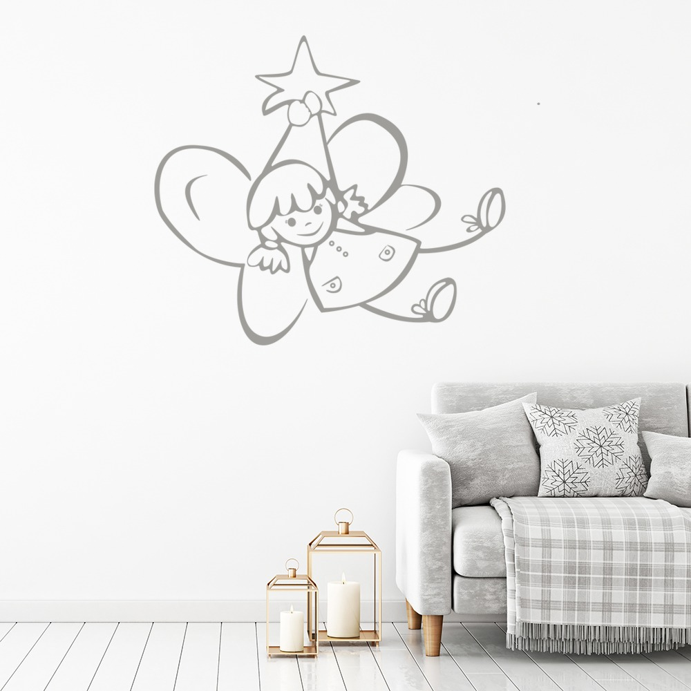 Flying Angel Wall Sticker Angel Wall Art