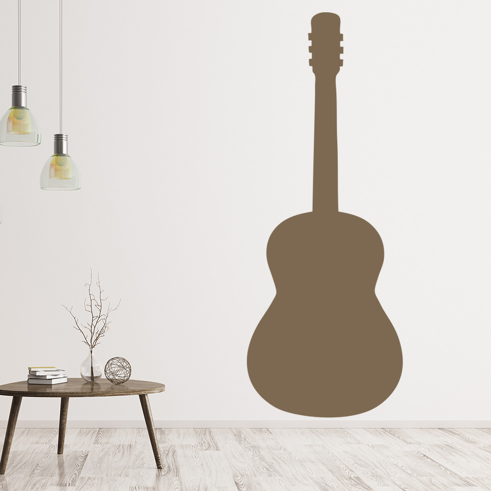 Guitar Wall Sticker Musical Instruments Wall Decal Rock