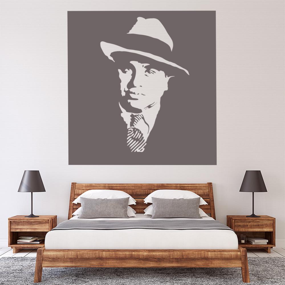 Al Capone Wall Sticker Icon Wall Art
