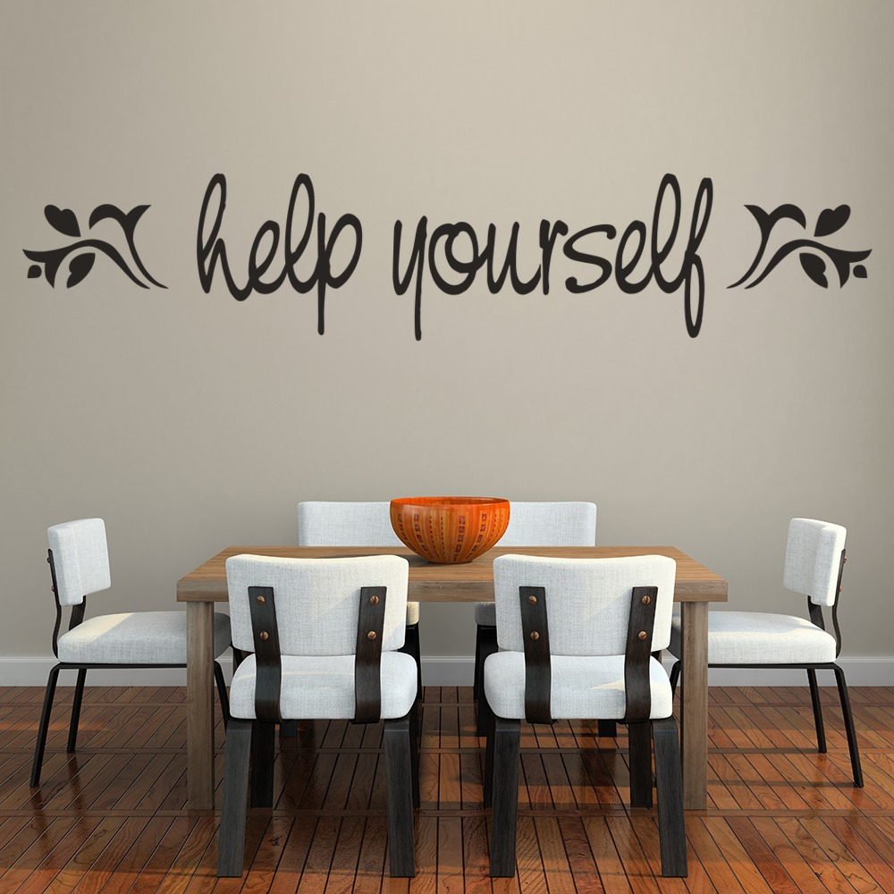 Help Yourself Wall Sticker Kitchen Wall Art