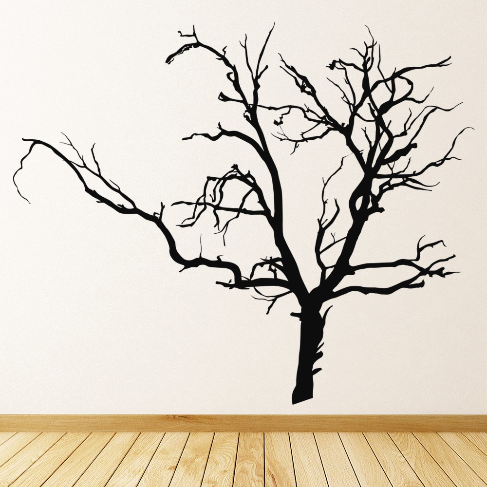 Bare Tree Wall Sticker Halloween Wall Art