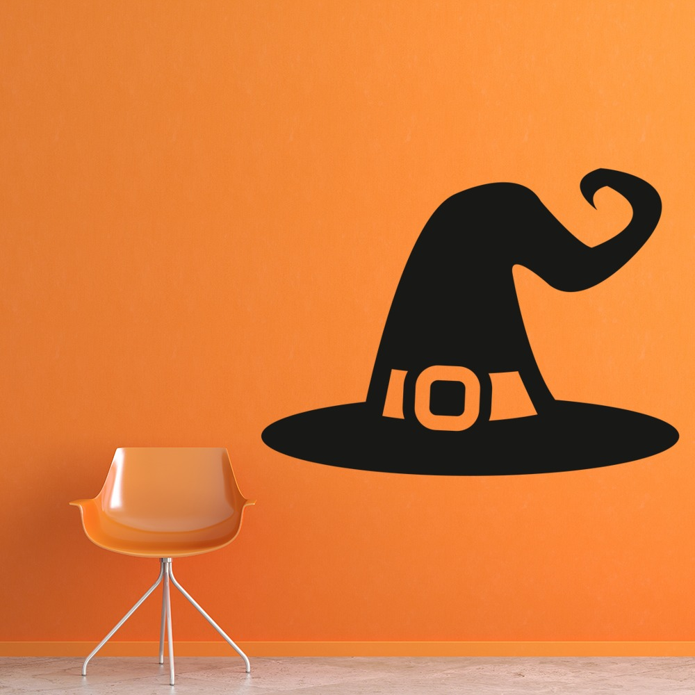 Witches Hat Wall Sticker Halloween Wall Art