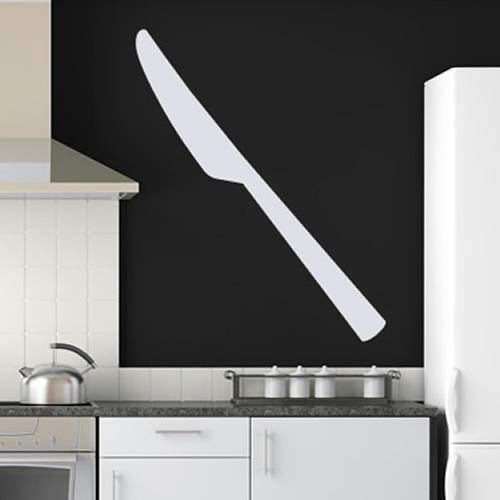 Fork Print Wall Stickers Kitchen Wall Art