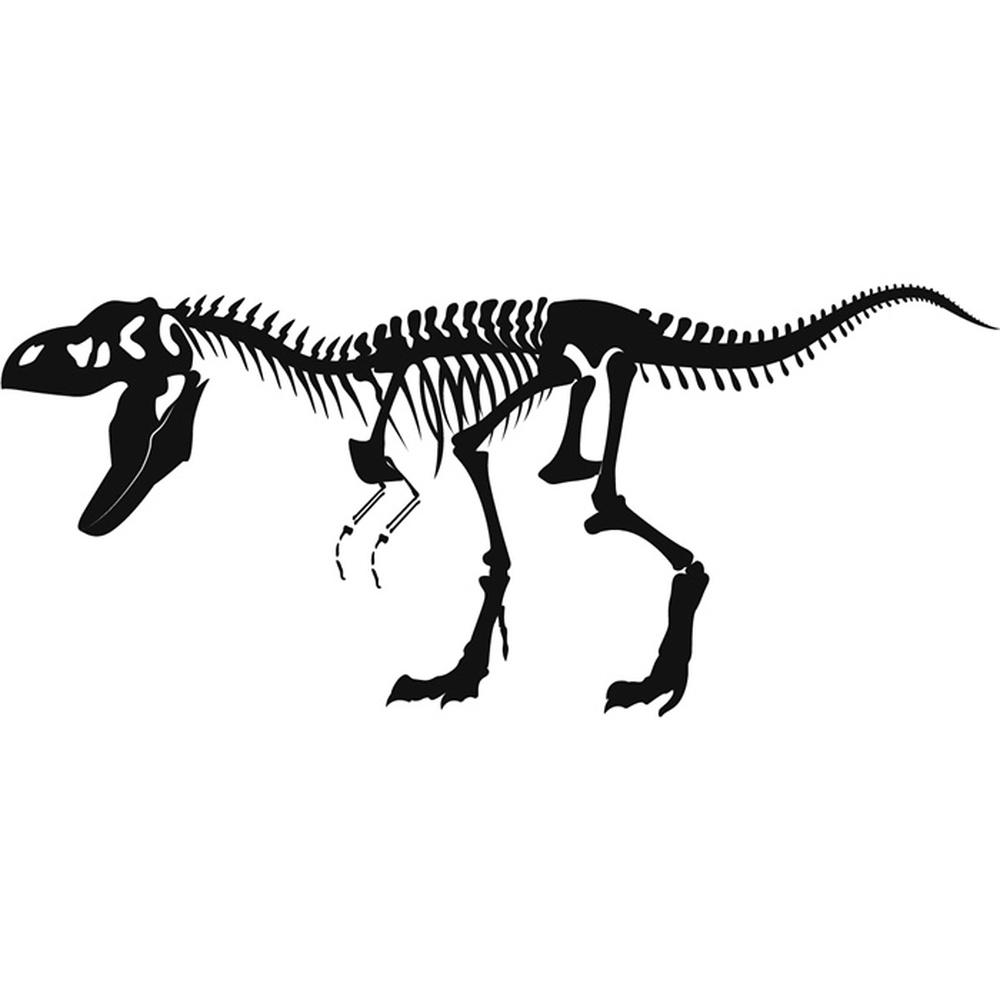 T Rex Skeleton Wall Sticker Fossil Dinosaur Wall Decal