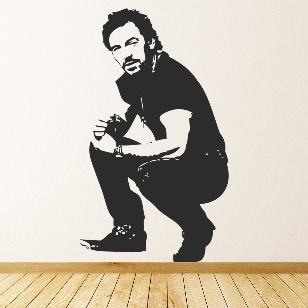 Bruce Springstein Wall Sticker Icon Wall Art
